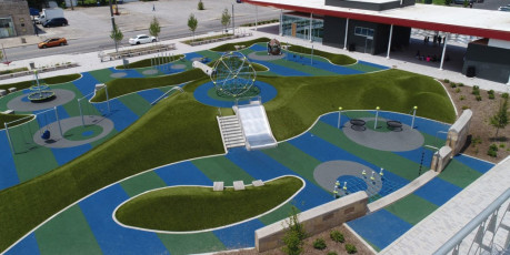 Contact ForeverLawn of Ohio to schedule a Playground Grass consultation!
